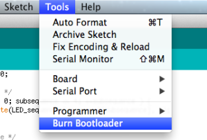 ide_burn_bootloader